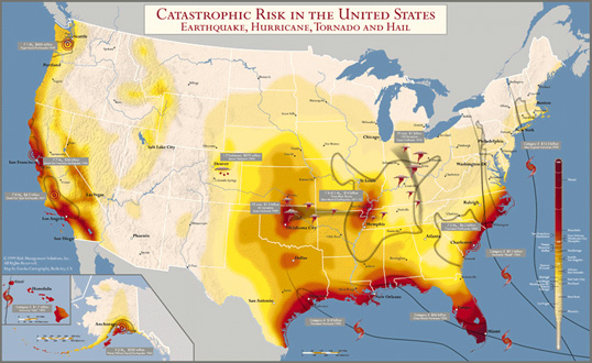 Catastrophic Risk in the United States